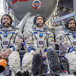 expedition_47_backup_crew_members_in_front_of_the_soyuz_tma_spacecraft_mock-up_in_star_city_russia